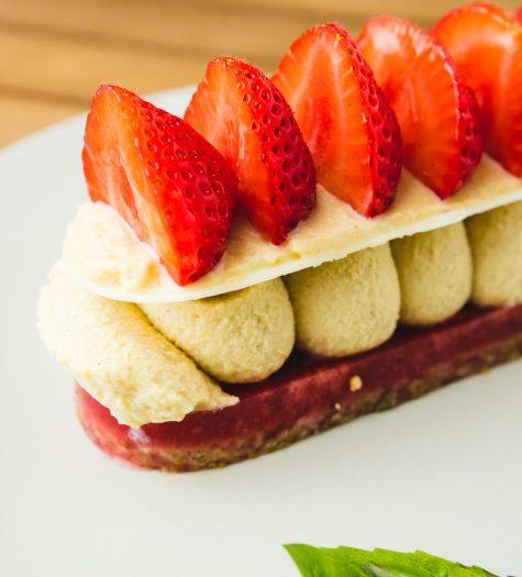 Finger fraise/pistache