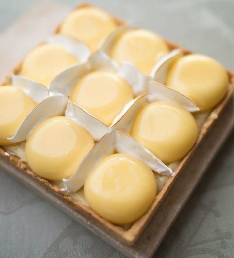 Carré citron-vanille